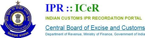https://ipr.icegate.gov.in/IPR/homePage , IPR  ICeR Indian Customs IPR Recordation Portal : External website that opens in a new window